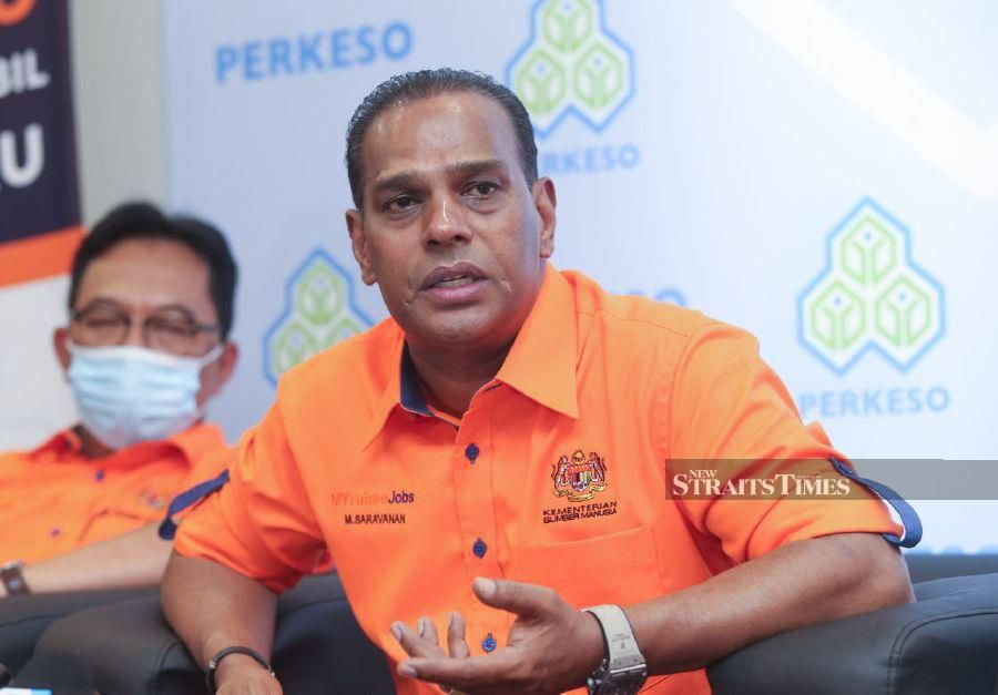 Human Resources Minister Datuk Seri M. Saravanan said the ministry was still waiting for a full report on the allegations made against Top Glove, which is the world's largest glove manufacturer. -NSTP/FARIZ ISWADI ISMAIL