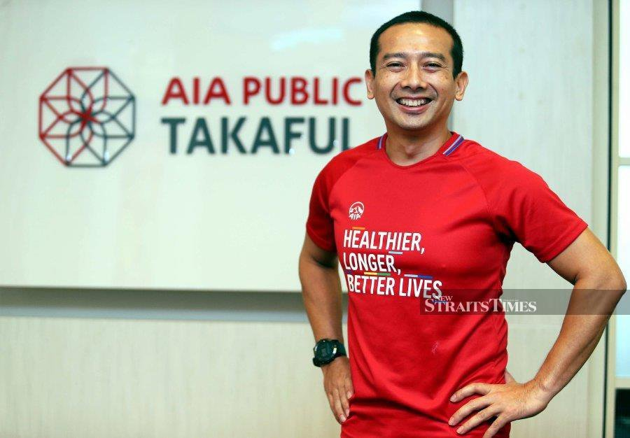AIA Public Takaful chief executive officer Elmie Aman Najas says the company is on the clear path to become one the top Takaful players in the country, thanks to the creation of the AIA Elite Academy. NSTP picture by SALHANI IBRAHIM.