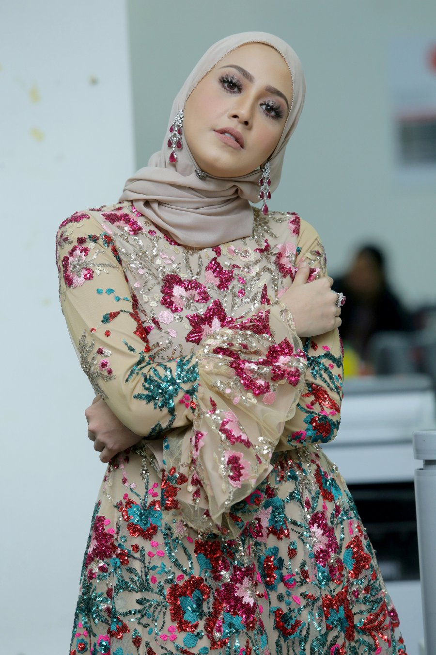 After Being Single For Three Years Now Popular Actress Nur Fathia Abd Latiff Is In No Hurry To Find Love Pix By NURUL SYAZANA ROSE RAZMAN