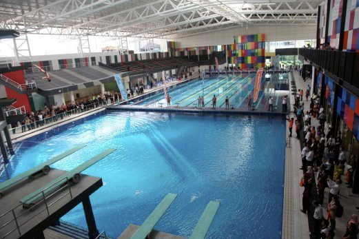 Sp setia unveils spice aquatic centre in penang new straits times malaysia general business Wellington swimming pool opening times