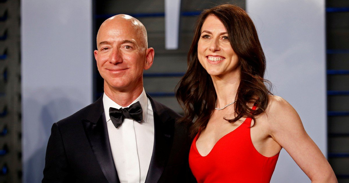 Amazon's Bezos, ex-wife reach biggest divorce deal in history | New