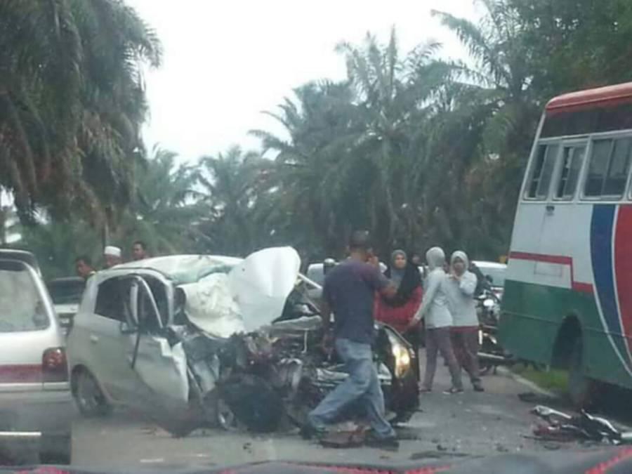 Teacher killed in head-on collision near Sg Kob police station | New