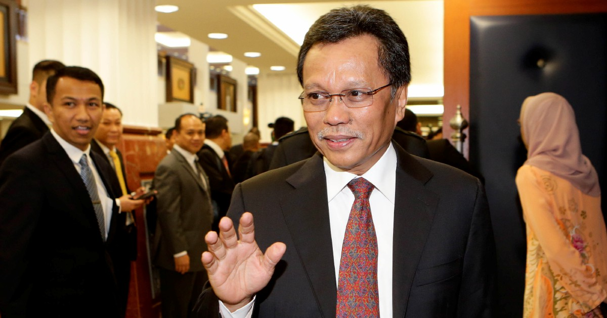 Shafie Apdal rubbishes report that he did not go to Istana Negara for meeting with King