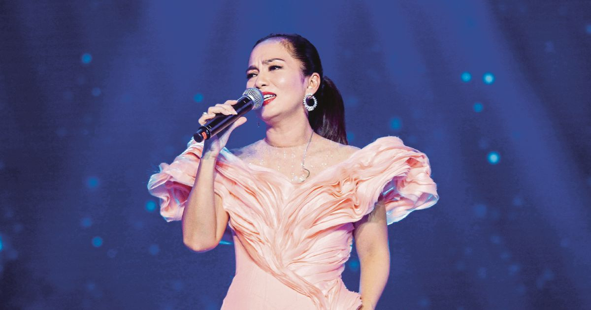 Sheila Majid concert in Singapore on March 3