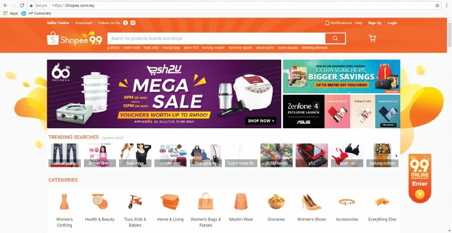 Authentic Official Shops in Malaysia | Shopee Mall