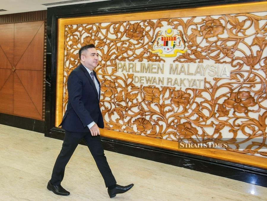 Transport Minister Anthony Loke Siew Fook, in announcing the matter, said the conditional approval came with 30 conditions which needed to be fulfilled before the project can proceed. NSTP/Azhar Ramli
