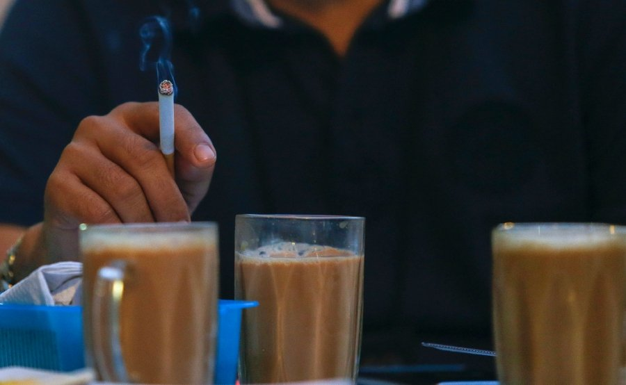 Image result for smoking at mamak
