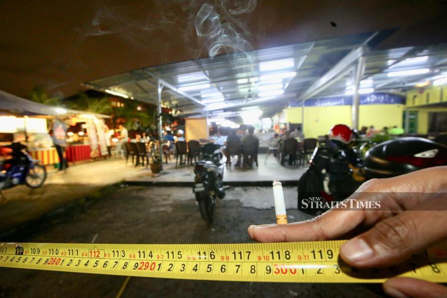 (Stock image for illustration purposes) The legislation will also designate a limited list of places where smokers can light up, said Health Minister Datuk Seri Dr Dzulkefly Ahmad. NSTP/MOHD KHAIRUL HELMY MOHD DIN