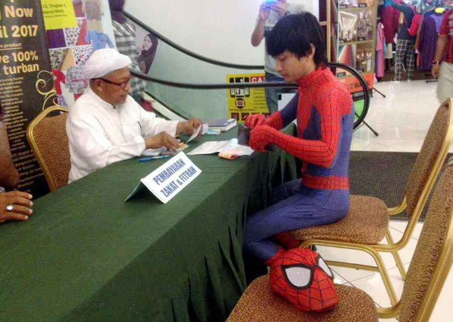 Image result for spiderman zakat