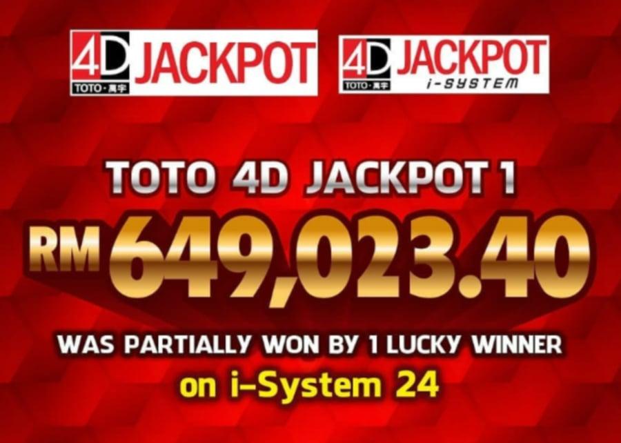 Punters strike it big in June with RM61 7 million winnings | New