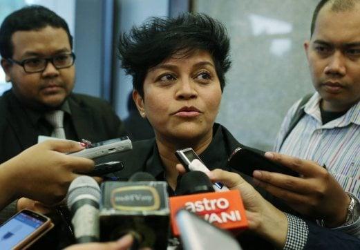 (File pix) Minister in the Prime Minister's Department Datuk Seri Azalina Othman Said.
