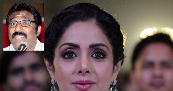 Death of Sridevi: MIC's Vell Paari to attend Mumbai funeral