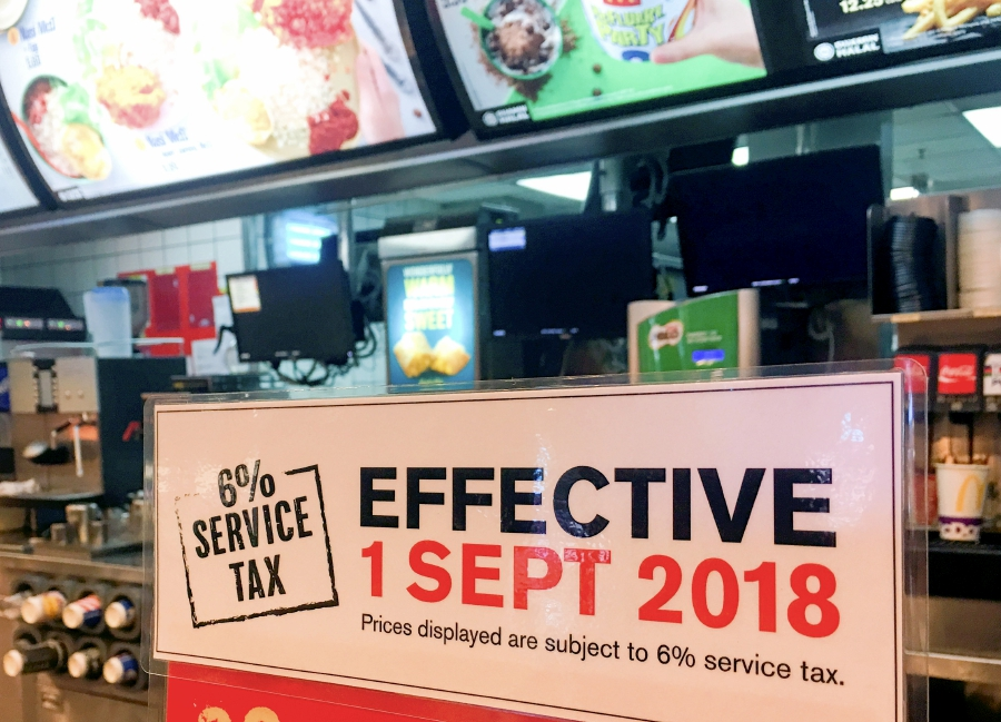 "(File pix) ""Compared to the effect (of SST) on the price of other goods where the public is watching to see if prices increase or not, the price of services is not expected to show much difference."" Pix by Danial Saad"