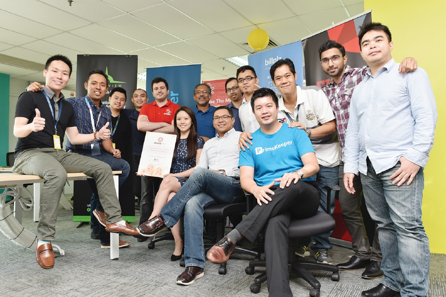 The driving force behind the 5 start-ups in the Cyberview's 4th Living Lab Accelerator Programme.