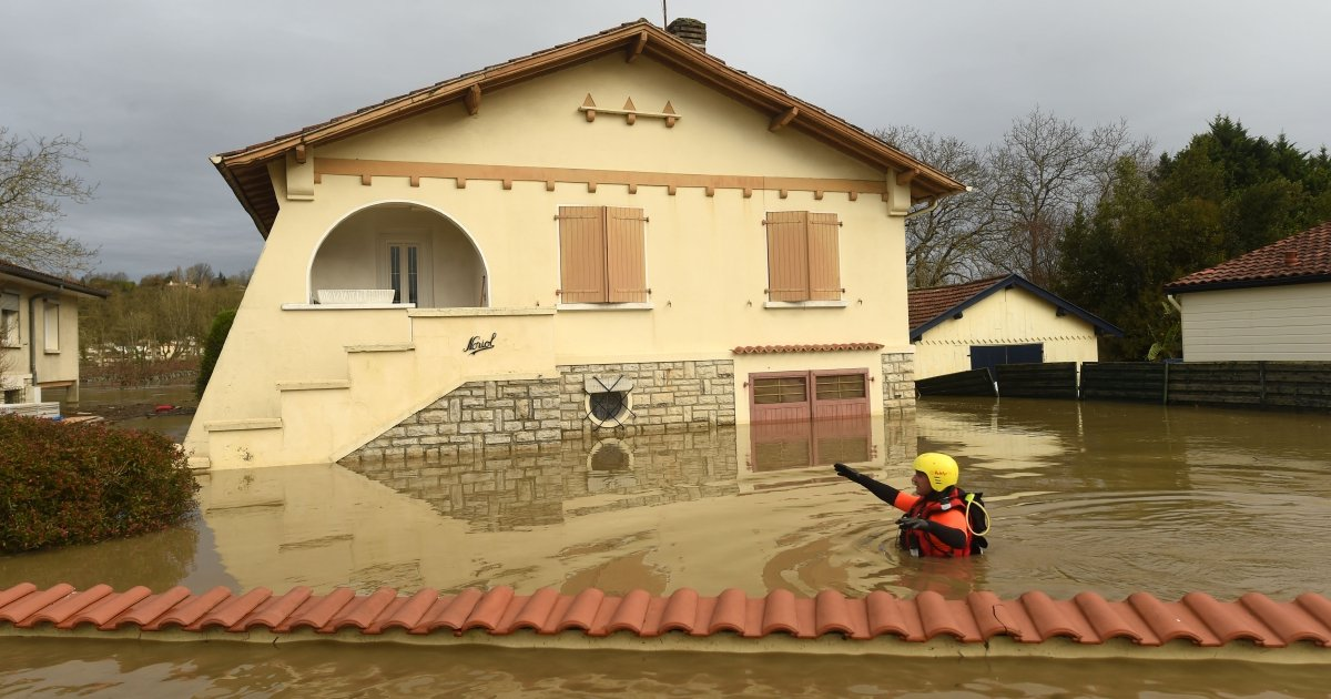 Two dead as severe storms batter France
