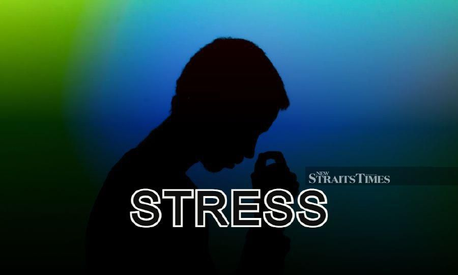 Research evidence suggests a clear link between excessive levels of stress and sickness. -NSTP/File pic