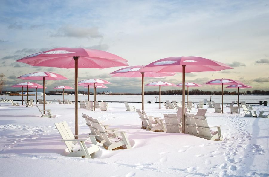 Sugar Beach – Toronto, Canada. (pic courtesy from Google images)