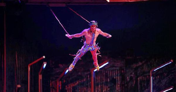 Cirque du Soleil aerialist falls to his death while performing in Florida