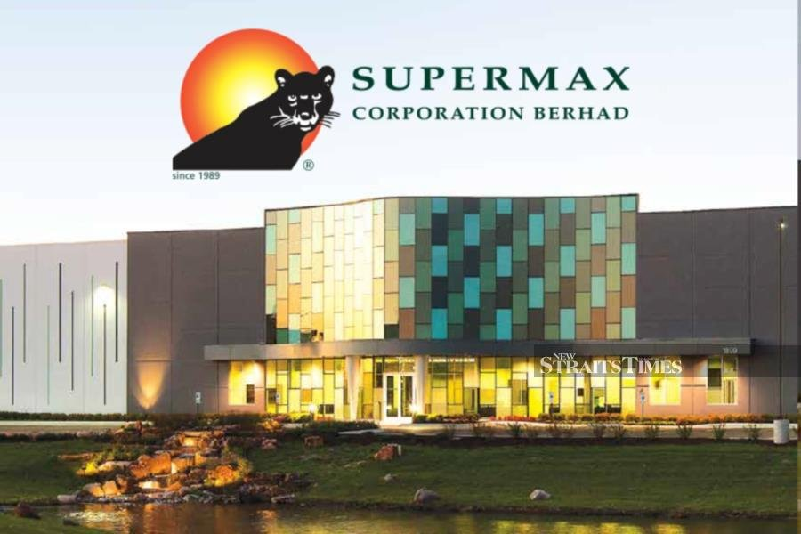Supermax Corp Bhd's net profit soars to RM535.6 million in the year ended June 30 2020 from RM123.1 million in 2019, buoyed by a whopping 2,815 per cent net earnings increase in the fourth quarter. NST file pix