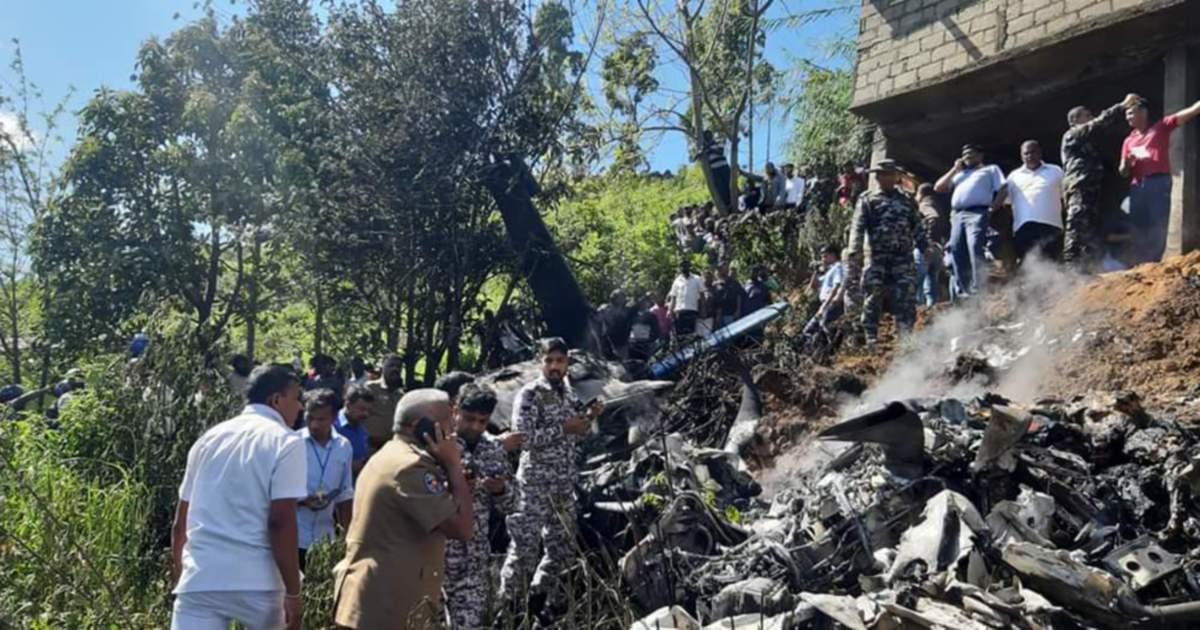 Four Killed In Sri Lanka Military Plane Crash