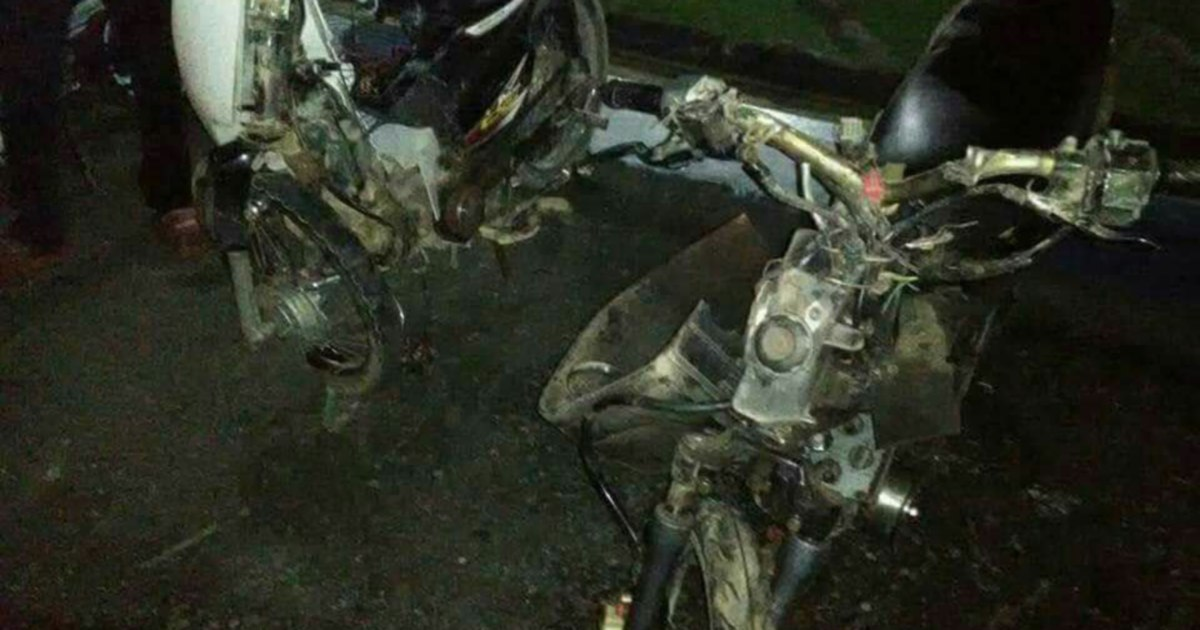 Close friends die in Pahang motorcycle accident