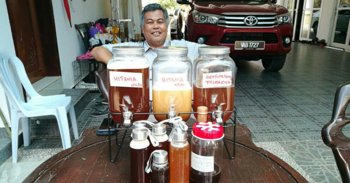 From politician to beekeeper: Ahmad Said shares his love for honey