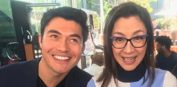Showbiz: Henry Golding appears on The View, shares a photo