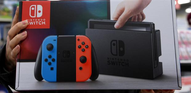 Nintendo sticks to 2 million sales target for new Switch