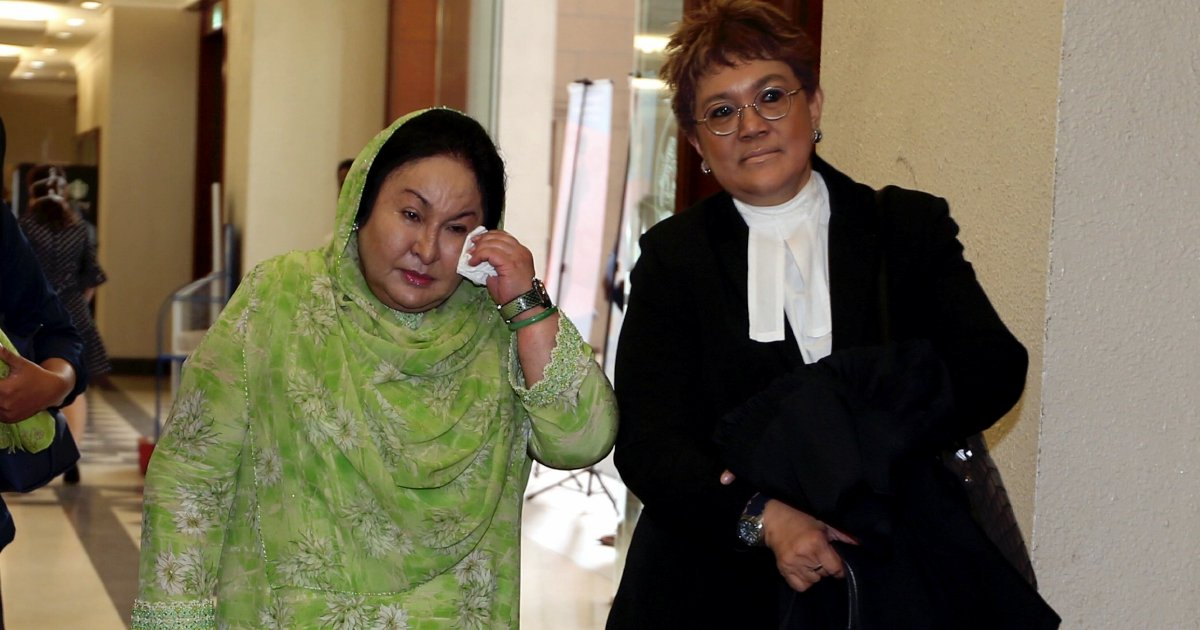 Rosmah throws a tantrum, refuses to leave court, and finally gets her way