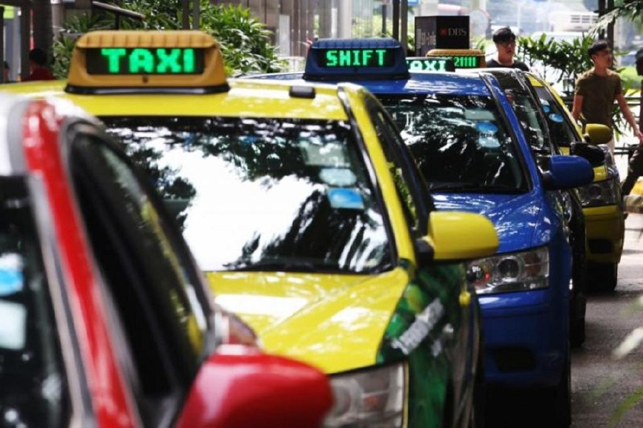 A second Singaporean taxi driver was diagnosed with the Covid-19 coronavirus. - Pic source: Today Online.