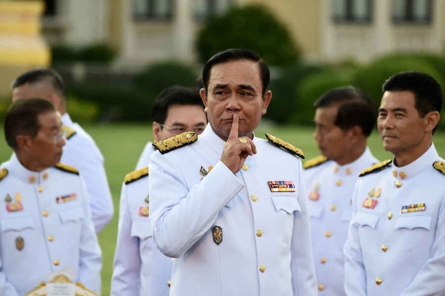 Thai king swears in coup leader's cabinet | New Straits ...
