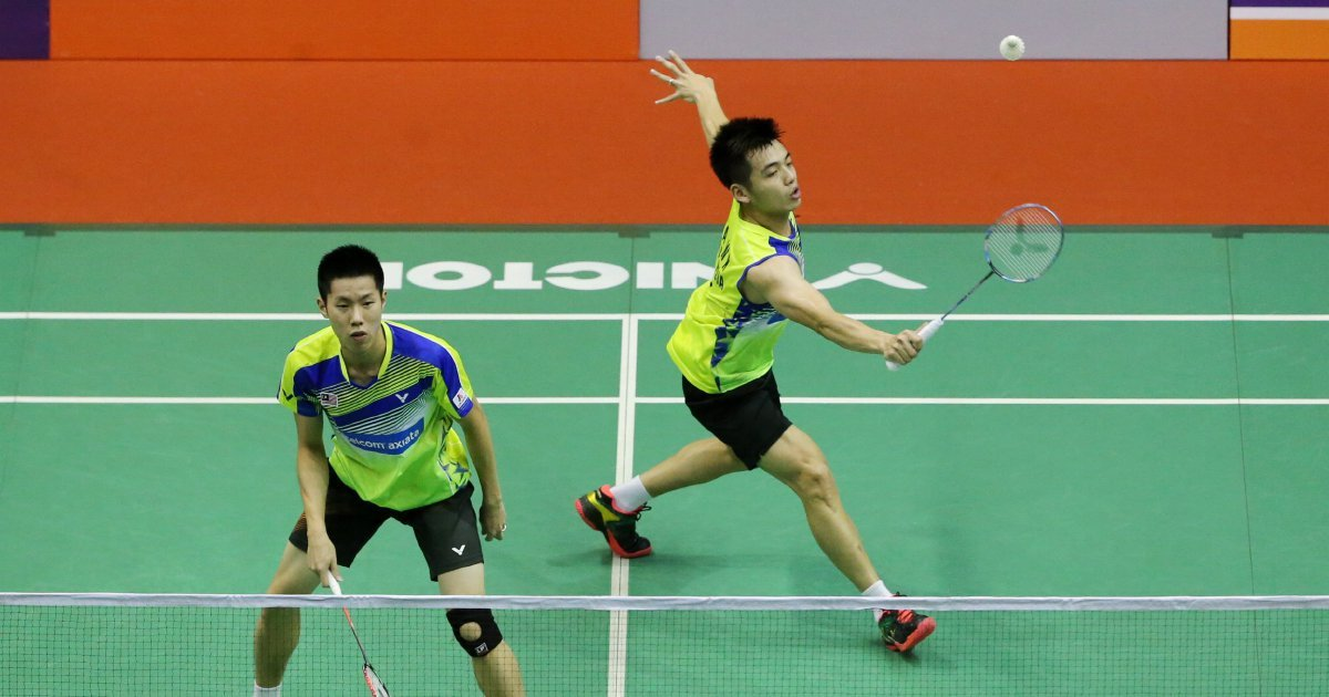 V Shem-Wee Kiong bring cheer with win over world champions