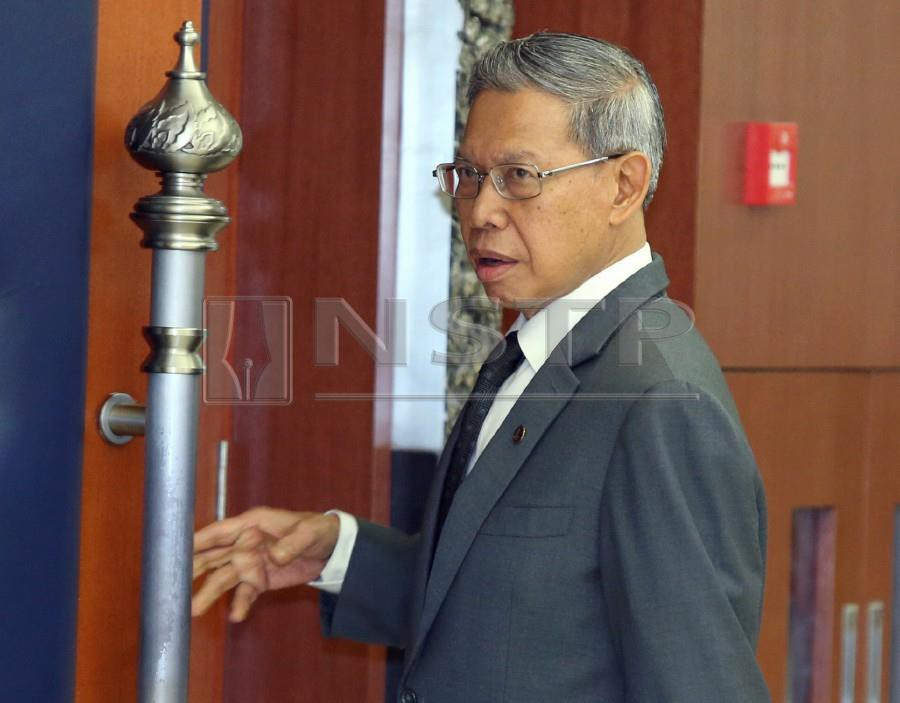 Tok Pa in hospital for kidney stone treatment | New Straits