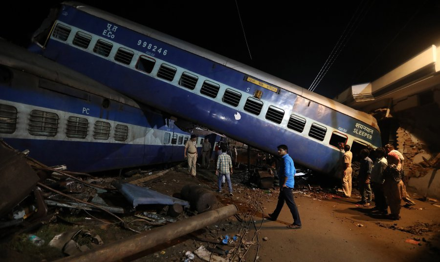 Utkal Express derailment: Northern Railways GM RNKulshrestha sent on leave