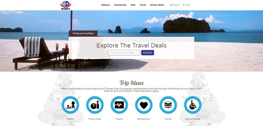 Travelers can now preview travel packages on offer at