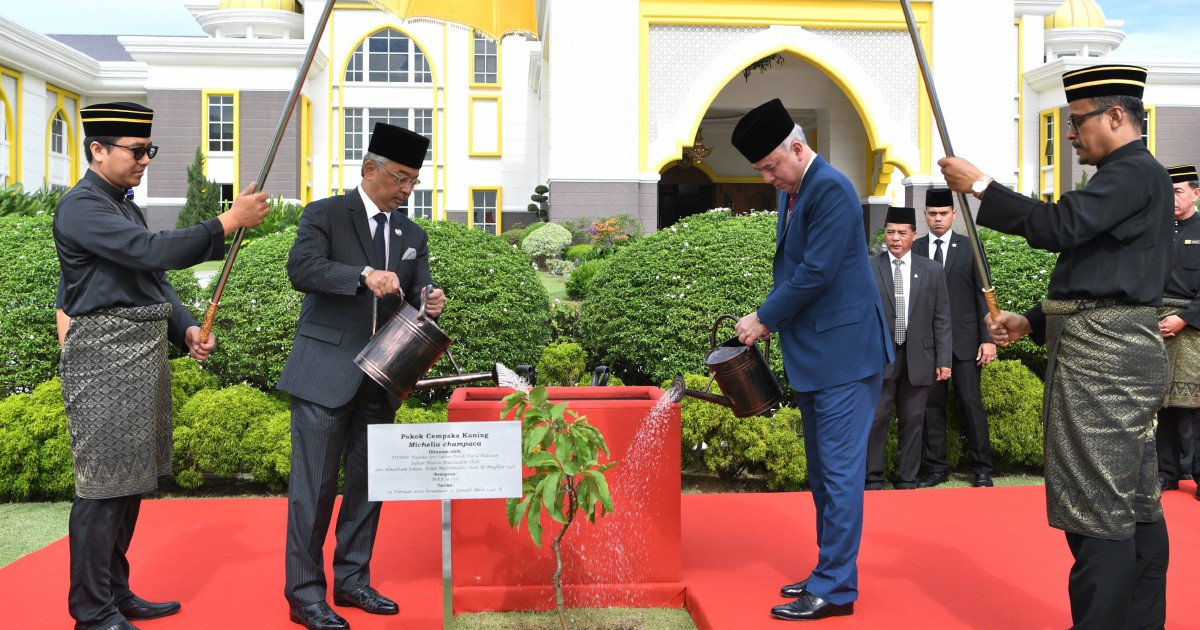 Symbolic tree-planting ceremony to mark start of Conference of Rulers' meeting