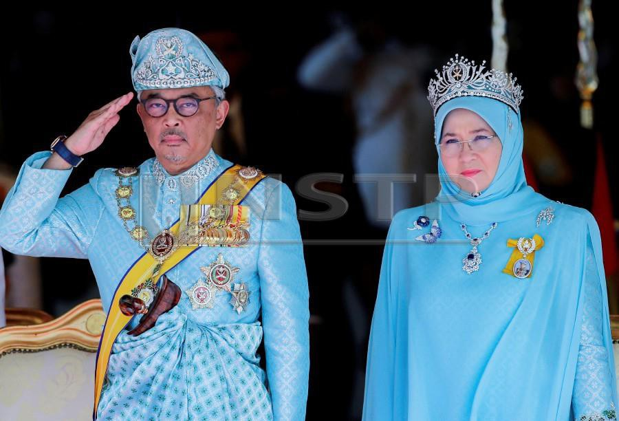 Tunku Azizah, who was proclaimed as Tengku Ampuan Pahang on Tuesday, married the sixth Sultan of Pahang, Al-Sultan Abdullah Ri'ayatuddin Al-Mustafa Billah Shah on March 6, 1986, and they are blessed with nine children. NSTP/AIZUDDIN SAAD