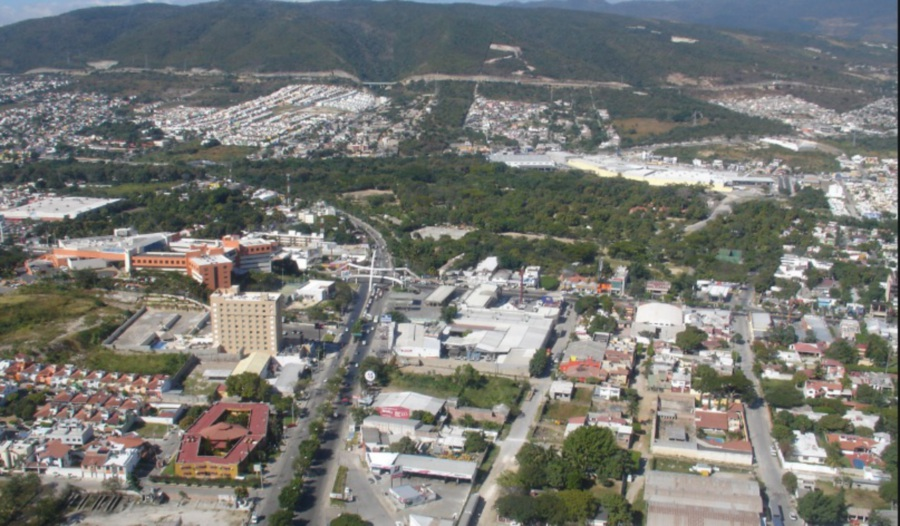 Tuxtla Gutierrez city.
