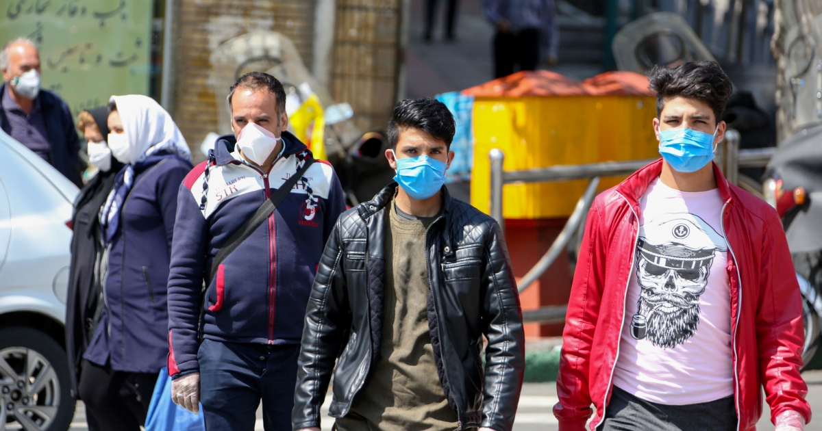 Iran reports 122 virus deaths, raising total to 4,232