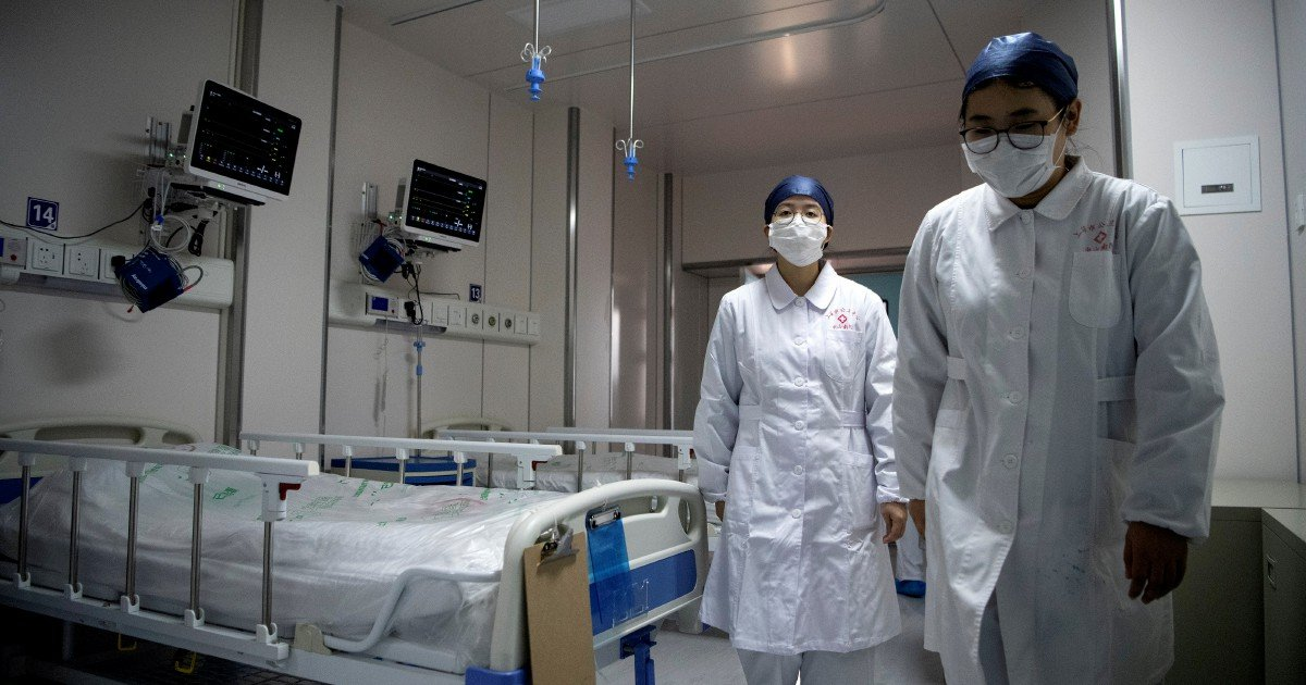 Shanghai Covid-19 hospital tries array of treatments in 'big test'
