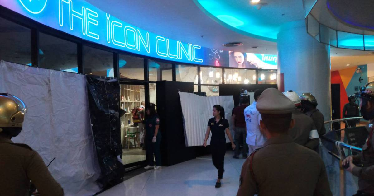 Gunman opens fire in Bangkok shopping mall; 1 dead, 1 hurt