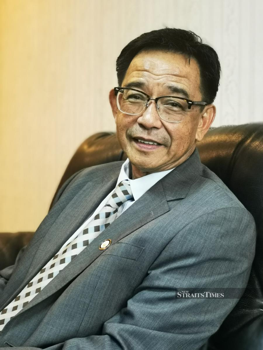 Abdul Karim has his sights on making Sarawak soar.