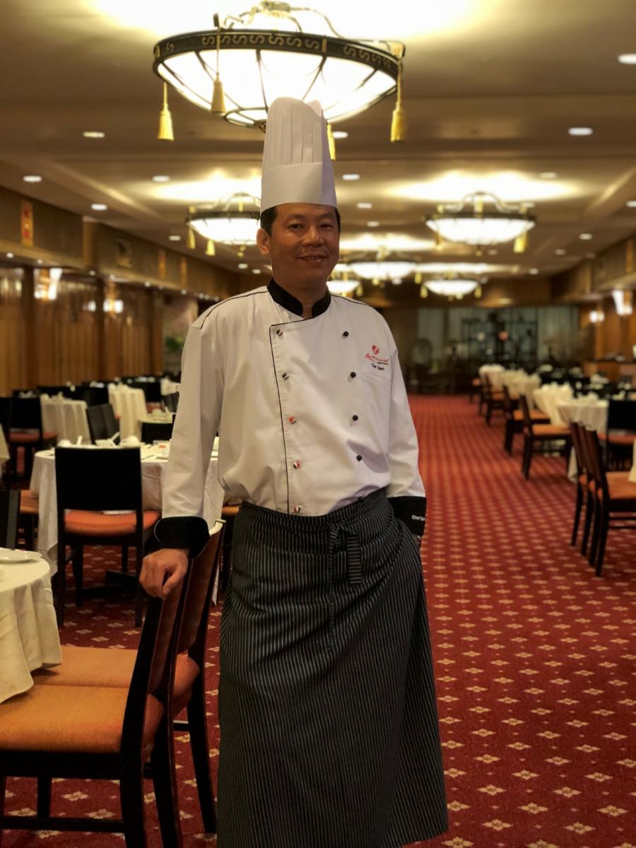 Chef Gan Chee Keong, dim sum chef of Resorts World Genting.