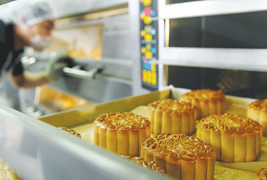 It takes years of experience to be able to roll out the pastry skin so thinly.