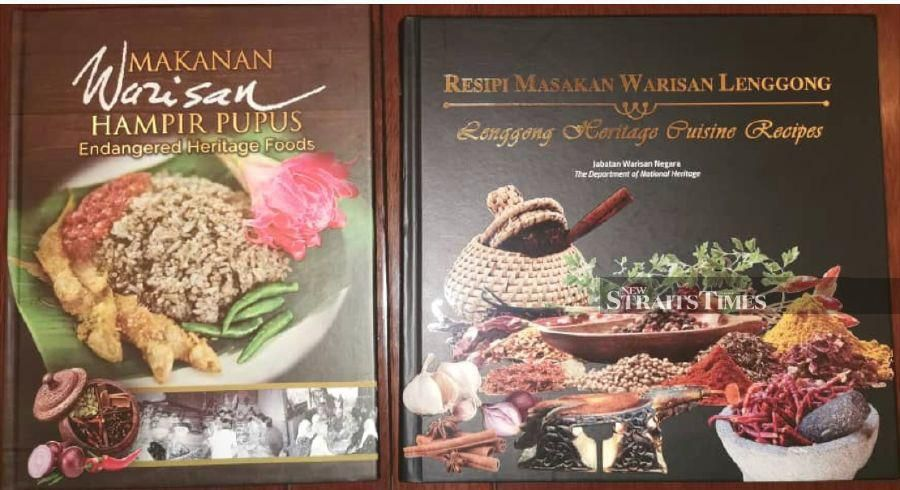 Heritage cuisine books published by the Department of National Heritage.