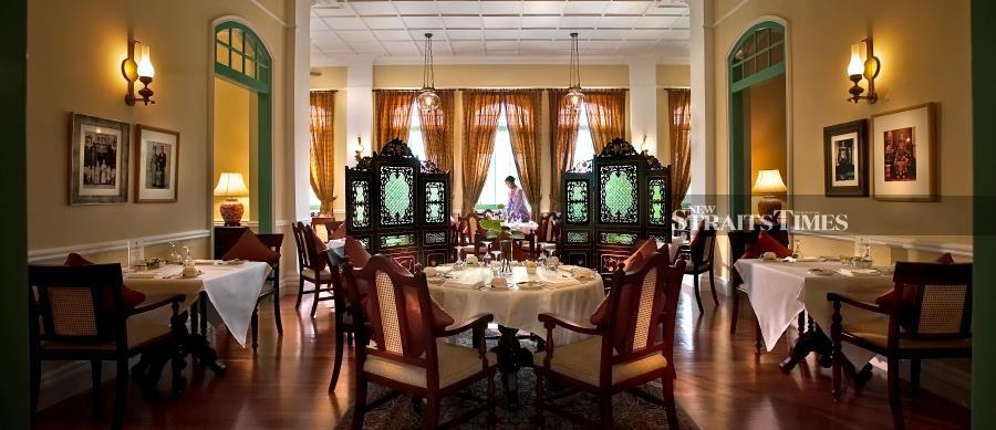 The Mansion restaurant.