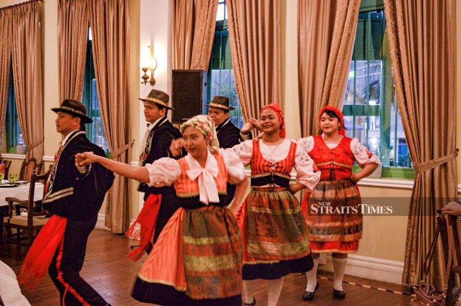 Traditional Kristang merriment. Pictures taken by Intan Maizura Ahmad Kamal and courtesy of YTL.