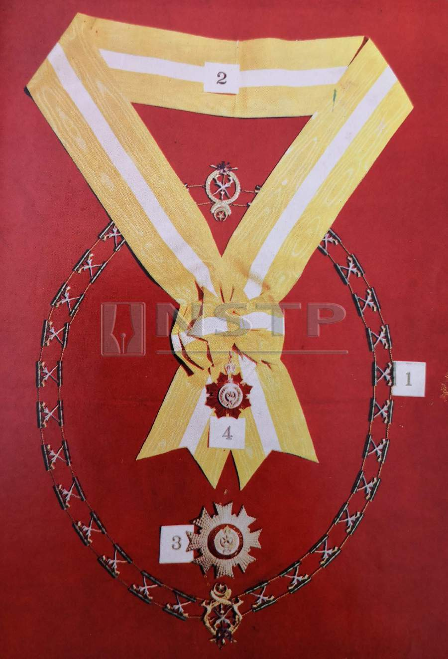 Invited dignitaries were decorated with awards on the second day of the installation celebrations on July 18, 1961.
