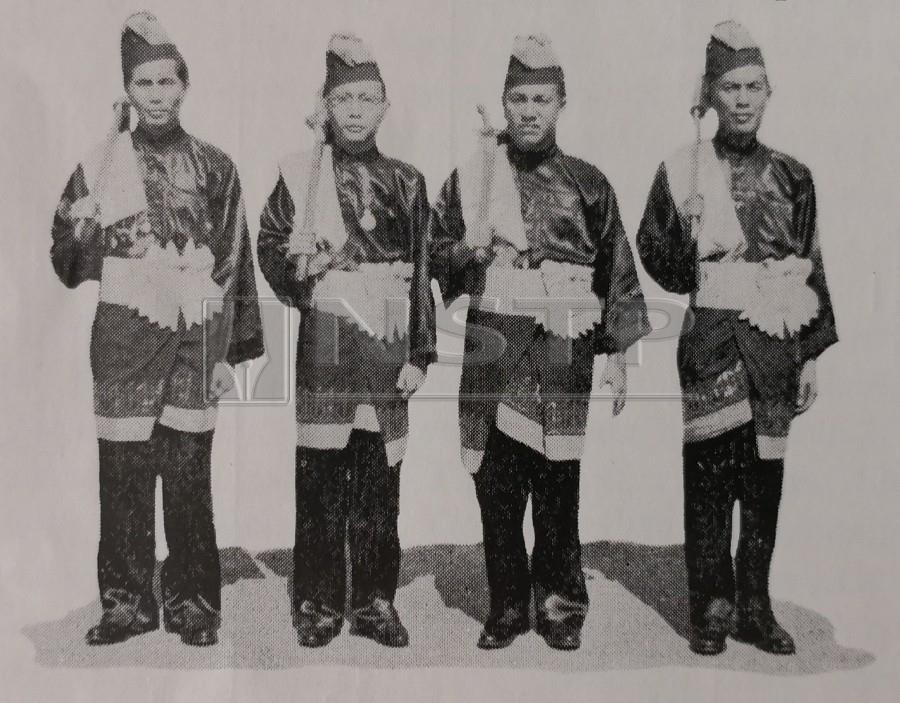 Smartly dressed palace guards taking part in the installation ceremony.