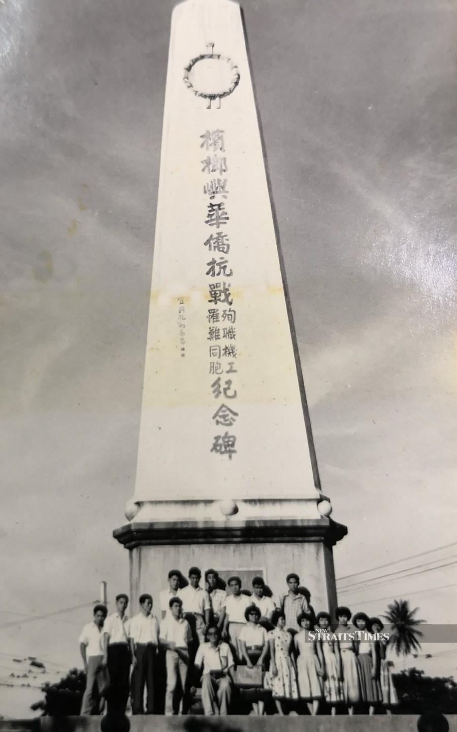 We should build memorials, like this one in Penang, to remember Malayans who lost their lives during the Japanese Occupation.